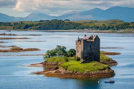 Best Scottish Castles Castle-Stalker