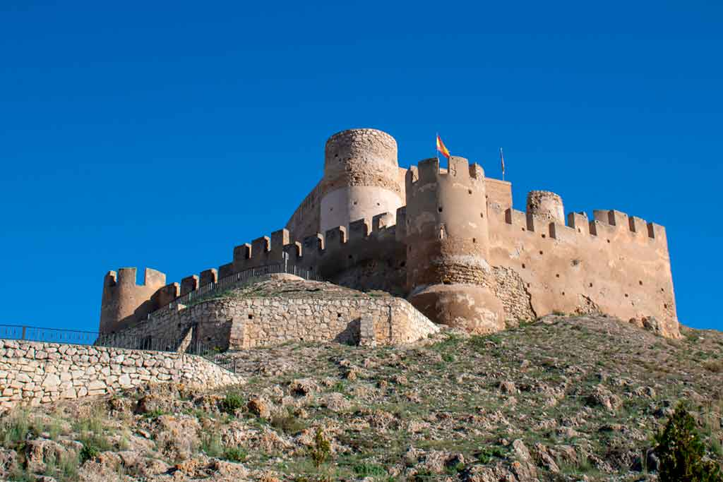 Best Spanish Castles Castle-of-Biar