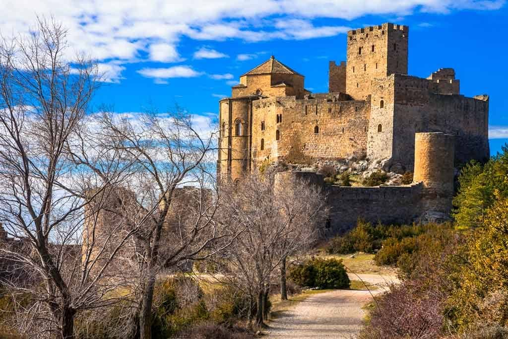 Castles in Spain Castle-of-Loarre