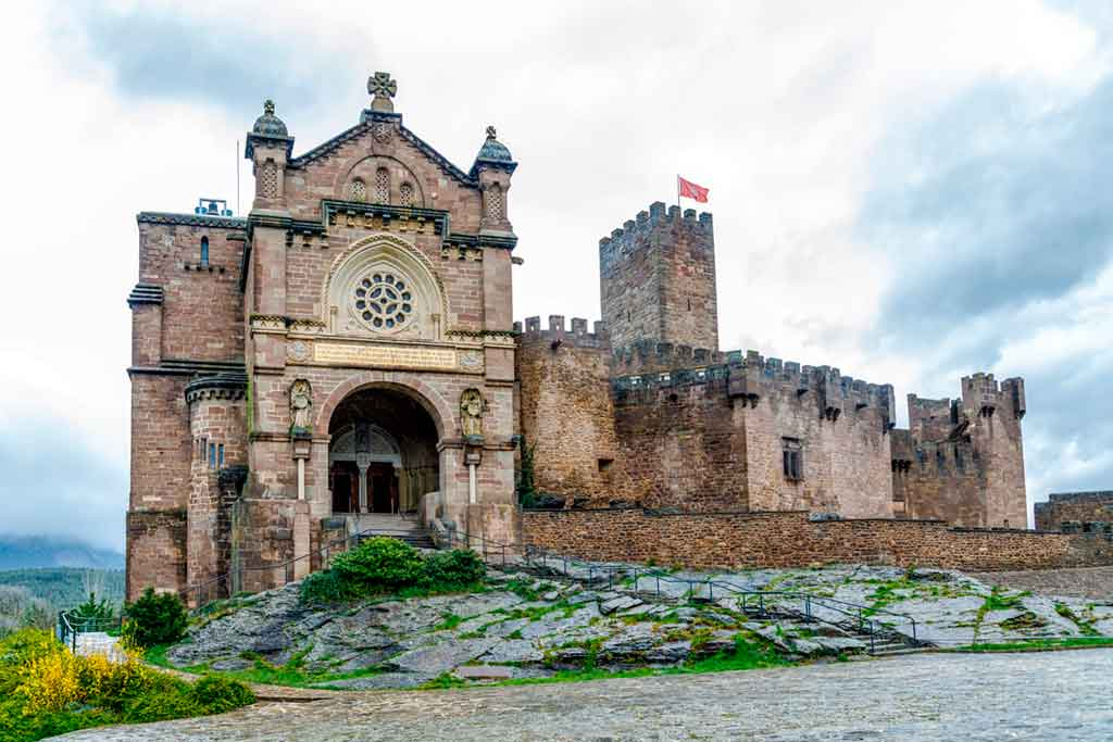 Famous Castles in Spain Castle-of-Xavier
