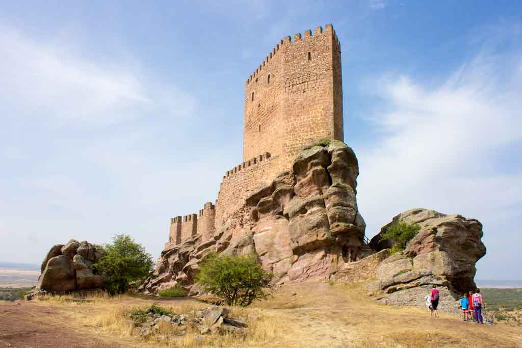 Best Spanish Castles Castle-of-Zafra