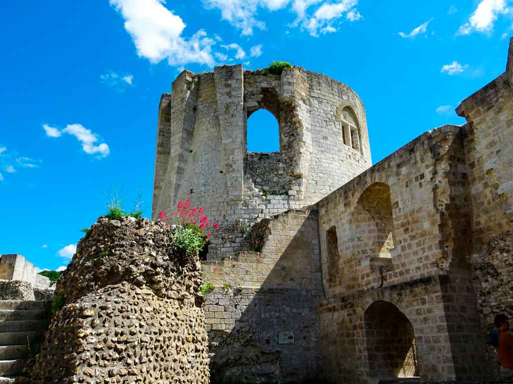 Medieval Castles Château-Gaillard-des-Andelys