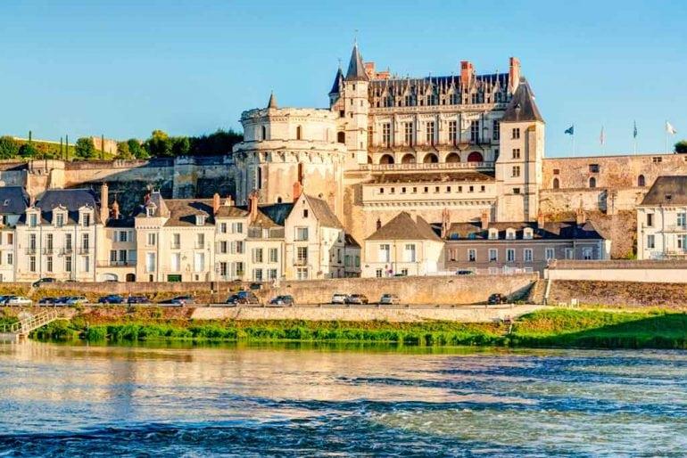 Castles in Loire Valley Château-d'Amboise