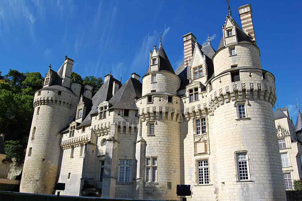 Best castles in Loire Valley Château-d'Ussé