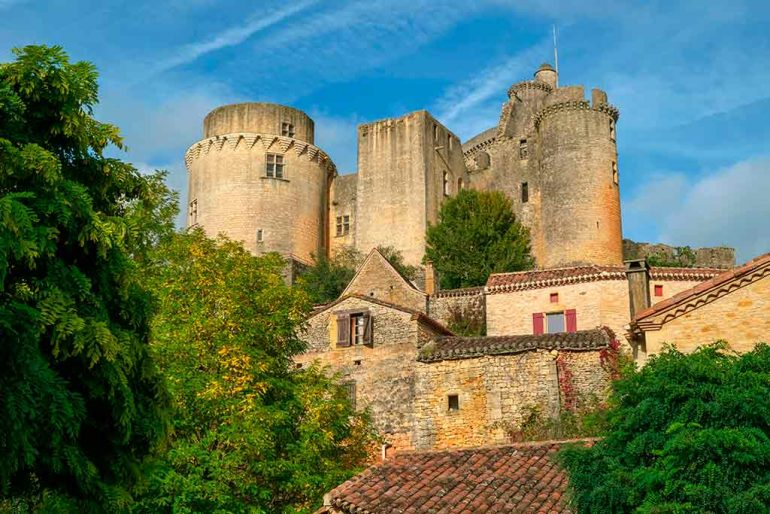 Best French Castles Chateau de Bonaguil