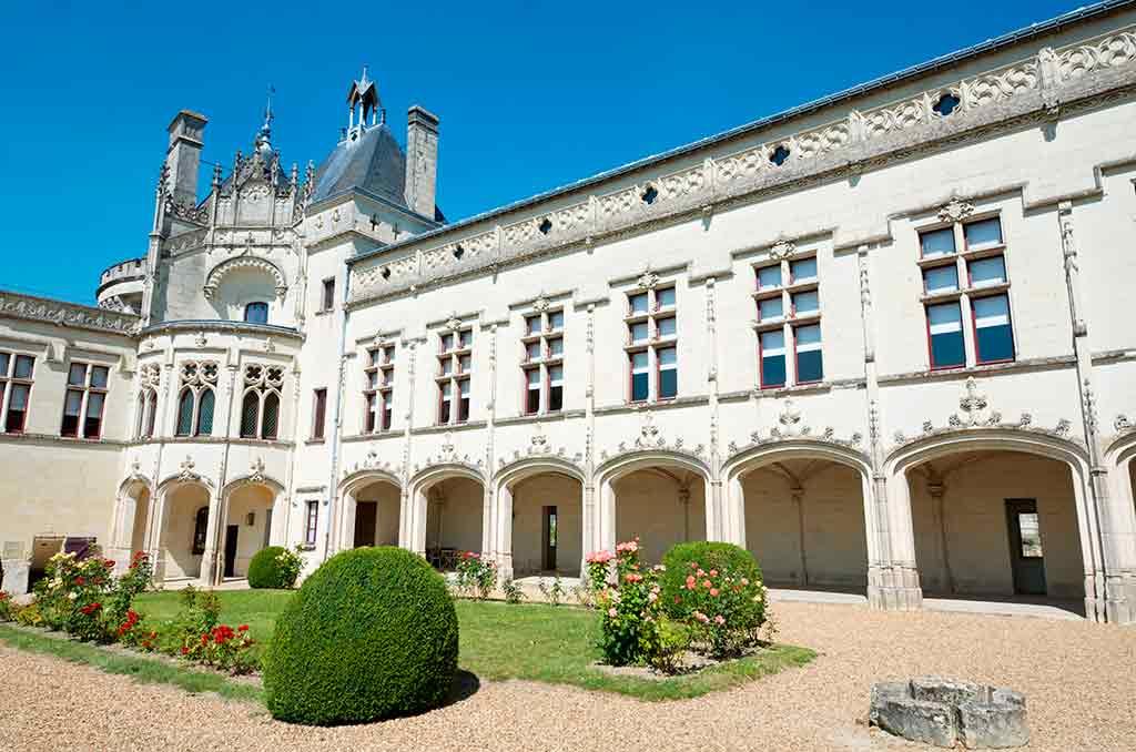Castles in Loire Valley Château-de-Brézé