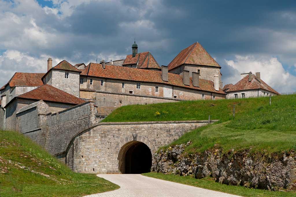 French Castles Chateau de Joux