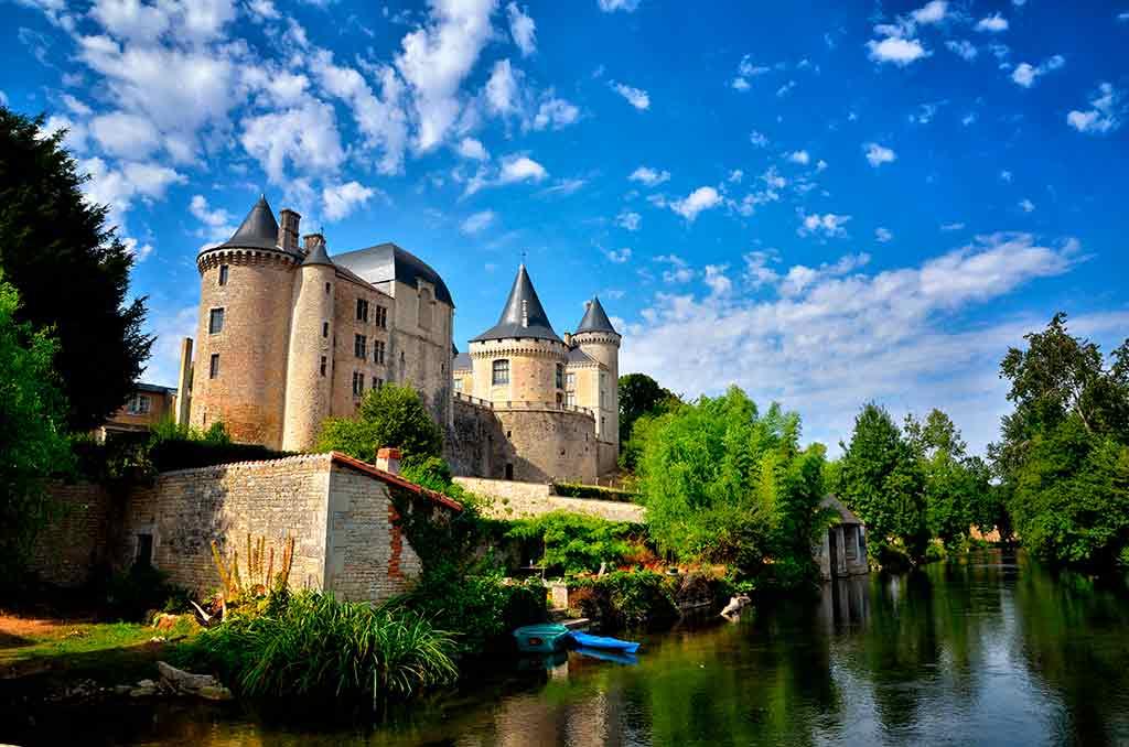 French Castles Chateau de Verteuil