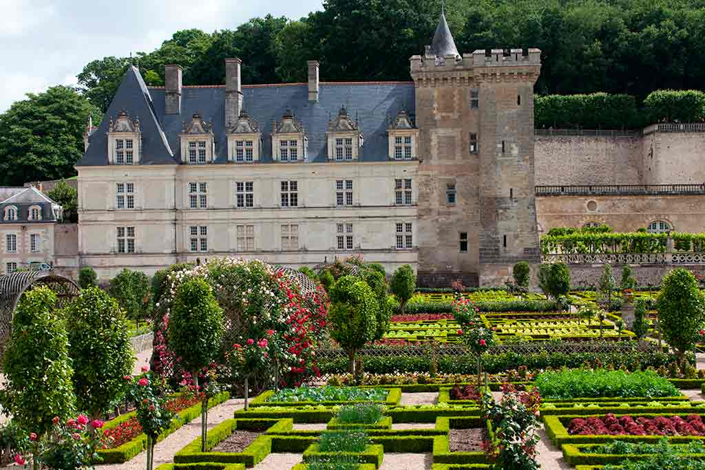 Best castles in Loire Valley Château-de-Villandry