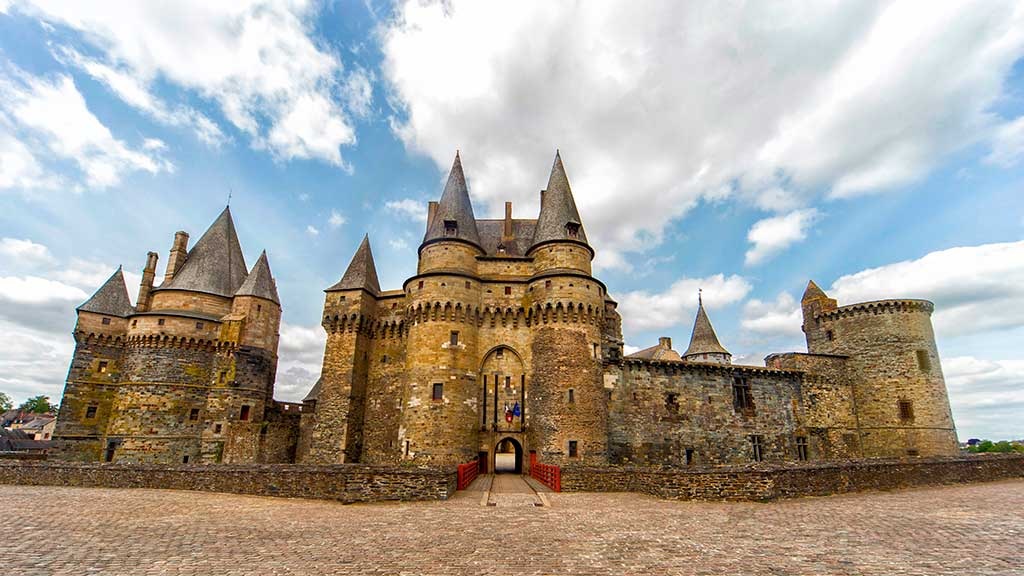 French Castles Chateau de Vitre