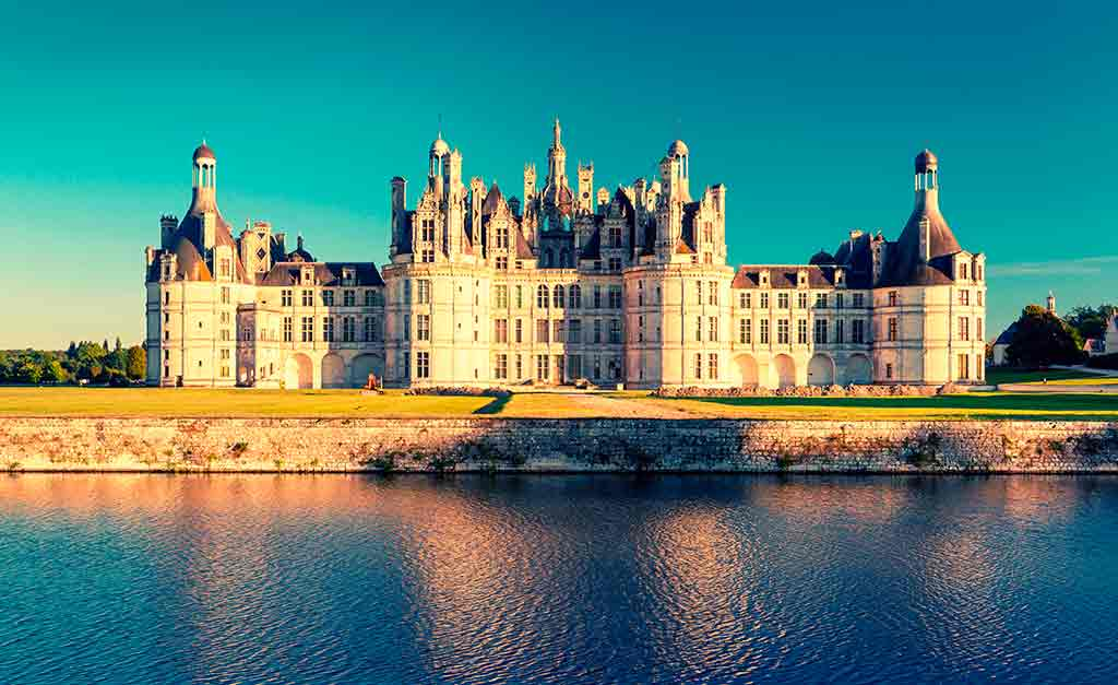 Castles in Loire Valley Château-of-Chambord