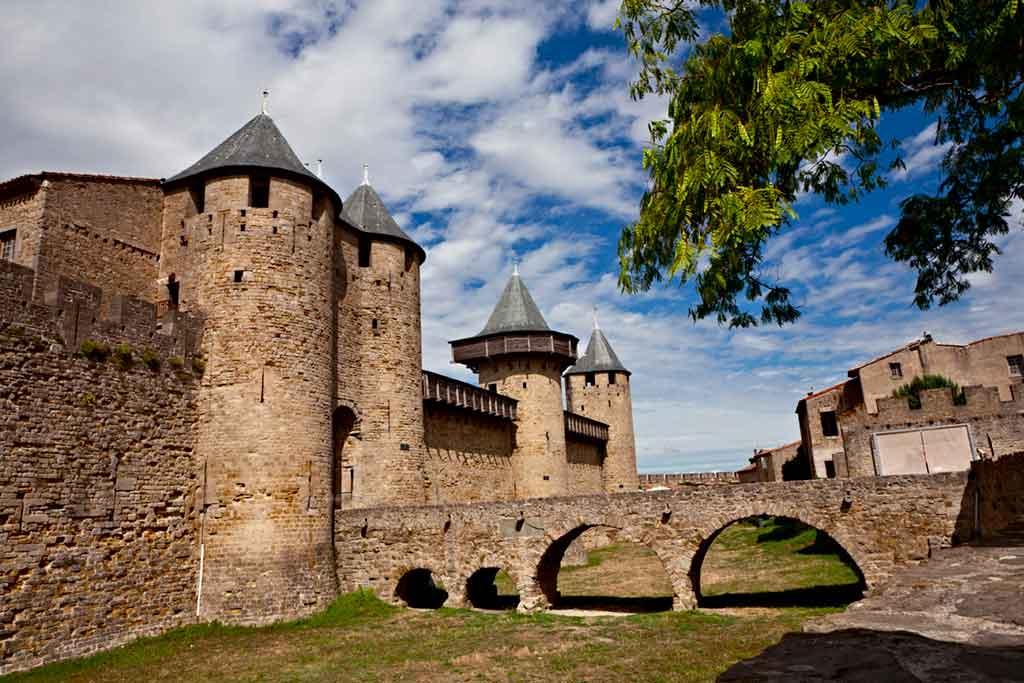 Famous Medieval Castles Chateau-Comtal