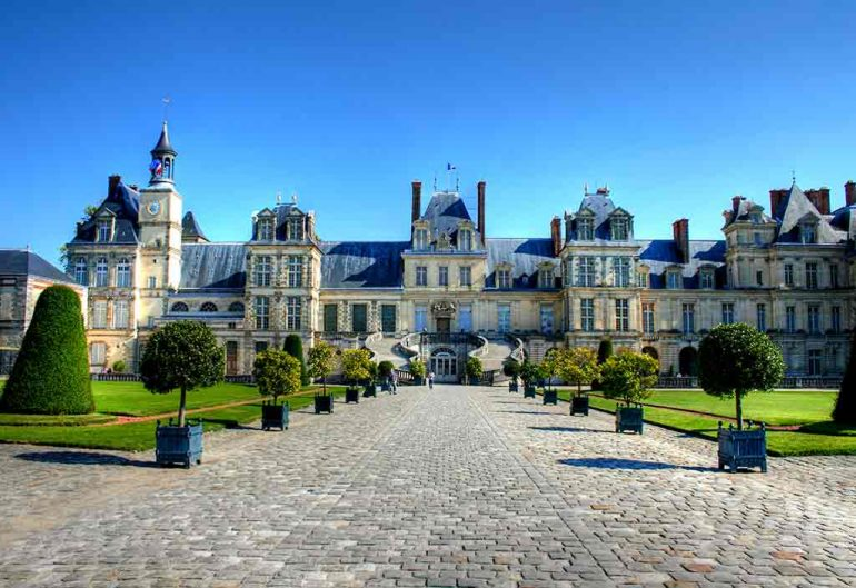 Castles in France Chateau Fontainebleau