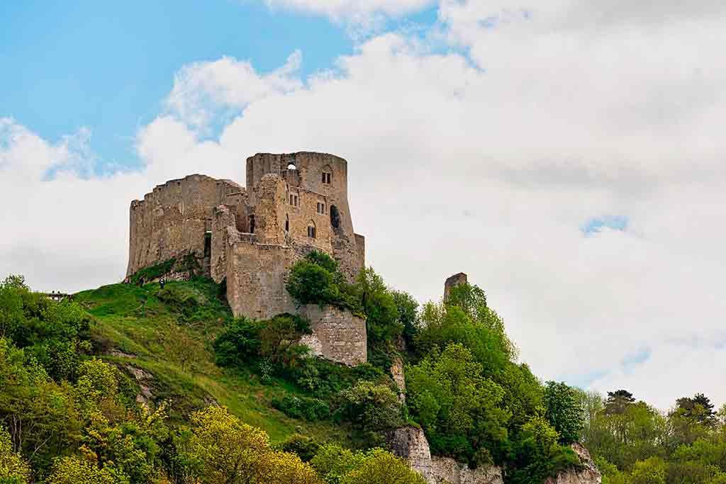 Best French Castles Chateau Gaillard