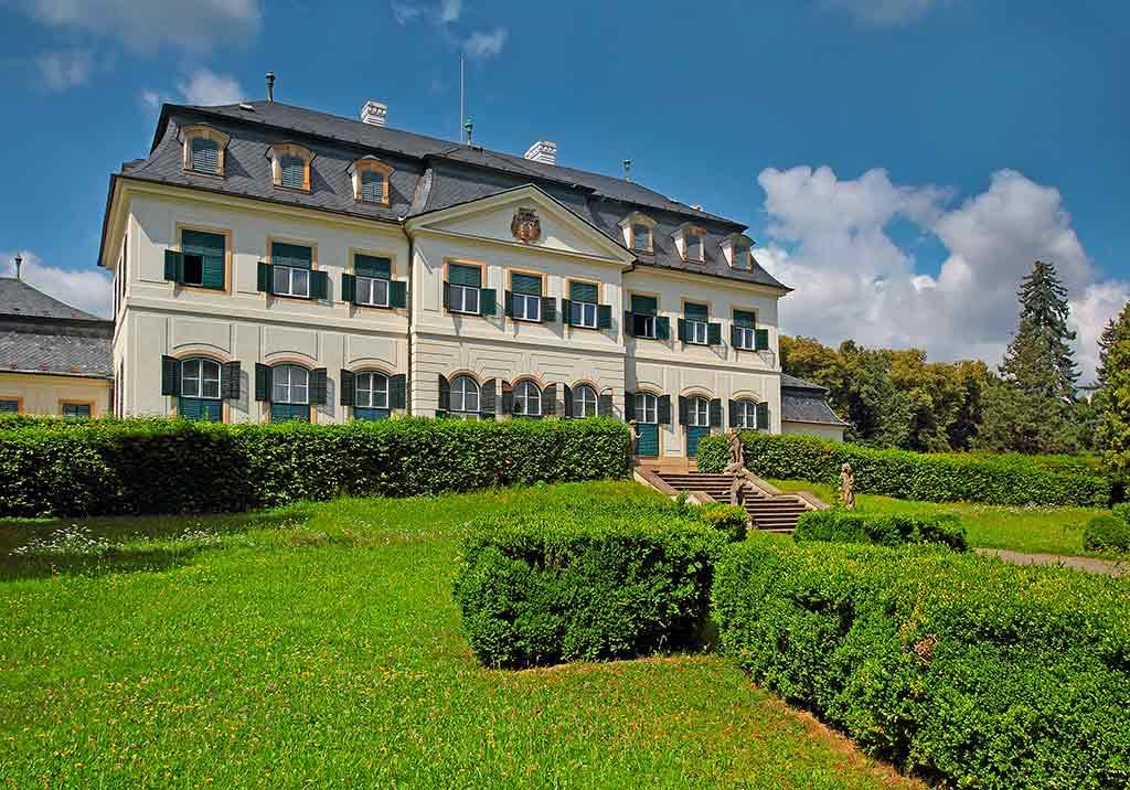 Castles in Czech Chateau Namest na Hane