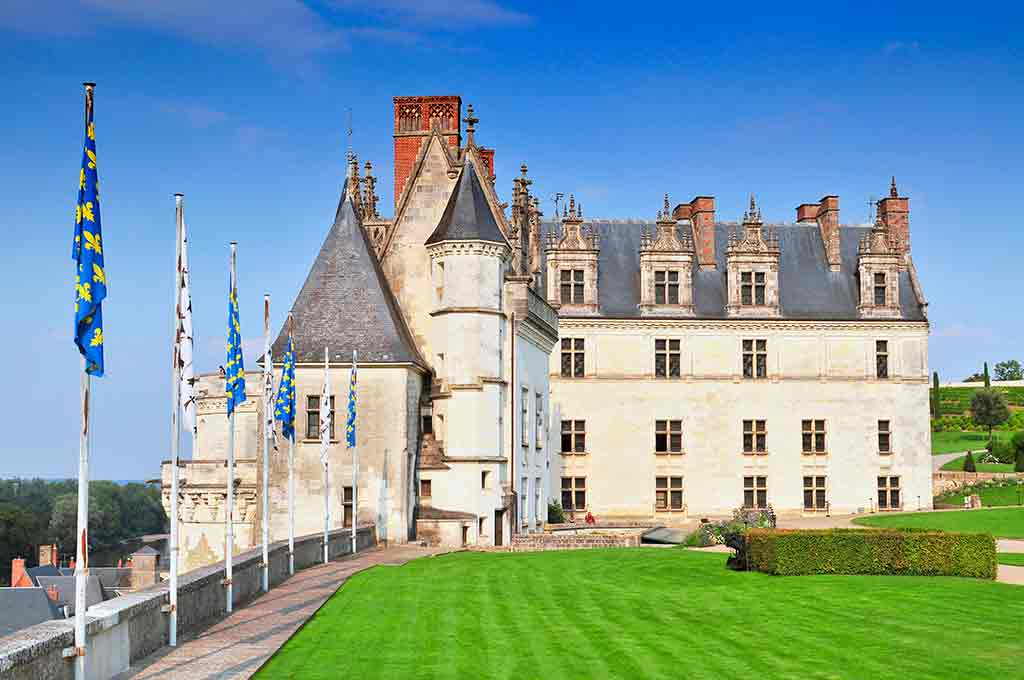 Best Castles in France Chateau-d' Amboise