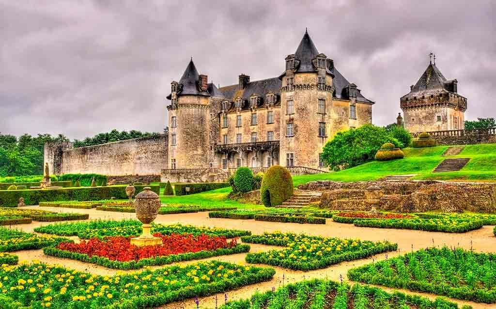 Famous Castles in France Chateau de la Roche Courbon