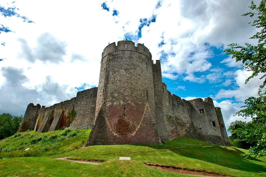 Welsh Castles Chepstow-Castle