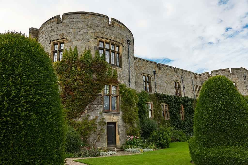 Famous Castles in Wales Chirk-Castle