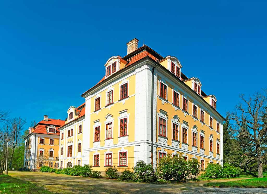 Famous Castles in Czech Chlum u Trebone Castle