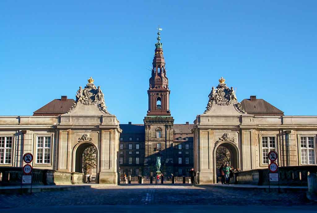 Denmark Castles Christianborg Palace