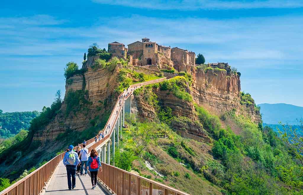 Italian Castles Civita-di-Bagnoregio