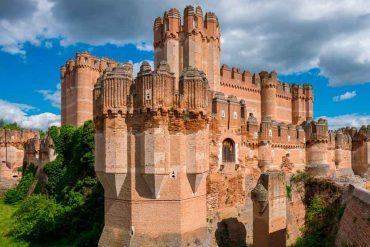 Castles in Spain Coca-Castle