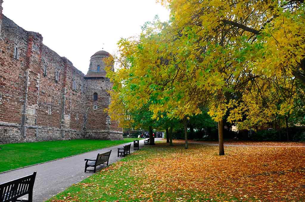 Famous Castles in England Colchester Castle
