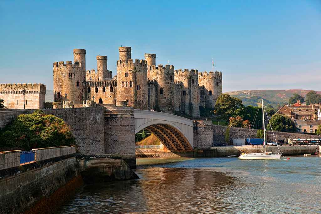 Best Welsh Castles Conwy-Castle