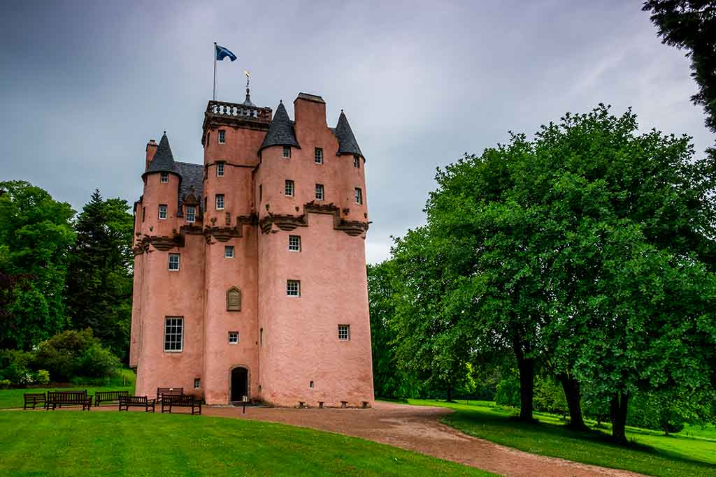 Scottish Castles Craigievar-Castle