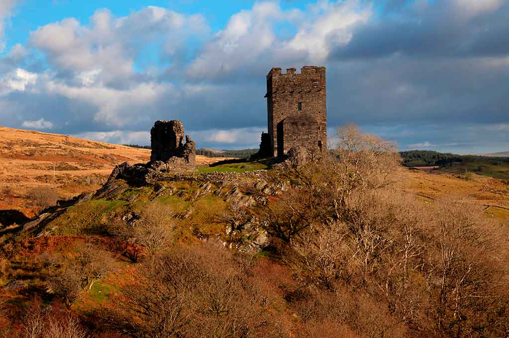 Castles in Wales Dolwyddelan-Castle