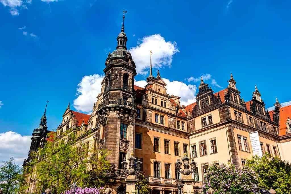 German Castles Dresden-Castle