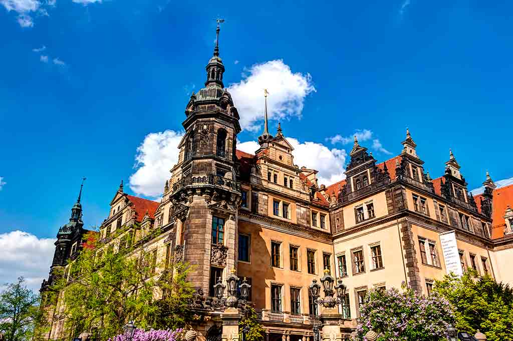 German Castles Dresden-Castle