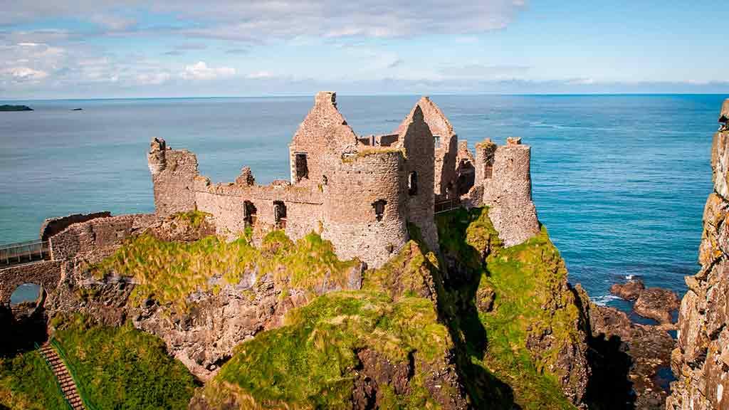Castles in Ireland Dunluce-Castle