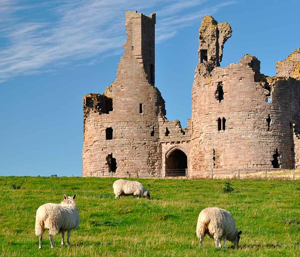 Best English Castles Dunstanburgh Castle