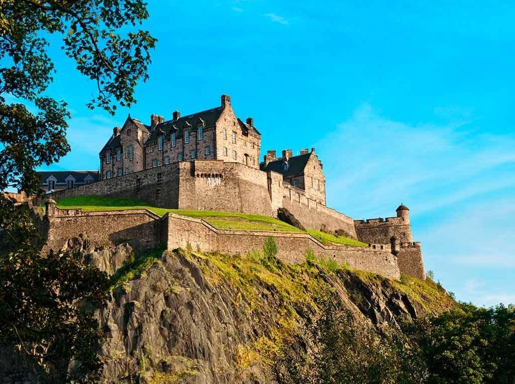 Best Castles in Europe Edinburgh Castle