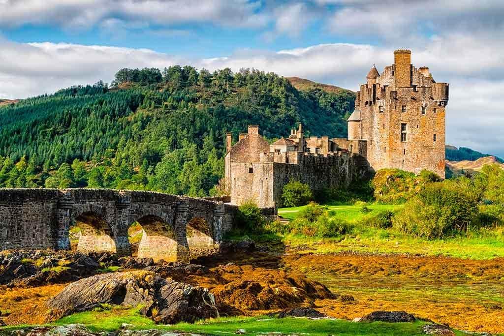 Best Scottish Castles Eilean Donan Castle