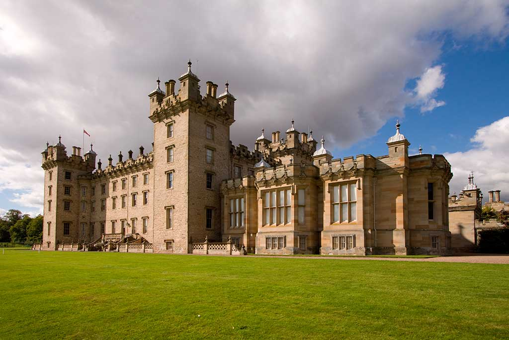 Castles in Scotland FLOORS-CASTLE