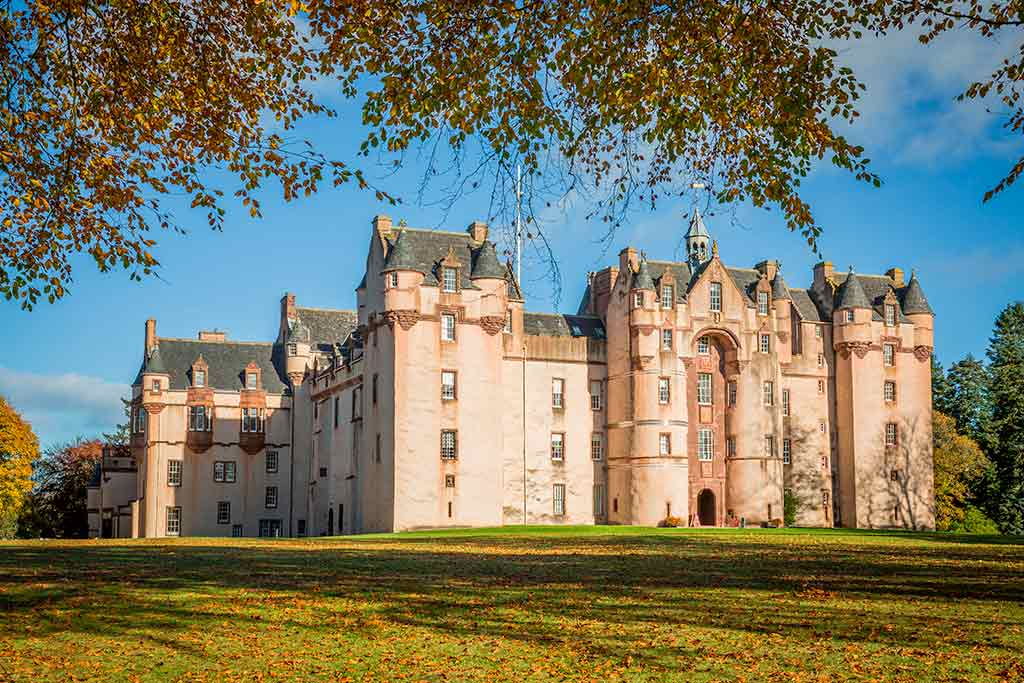 Best castles in Scotland FYVIE-CASTLE