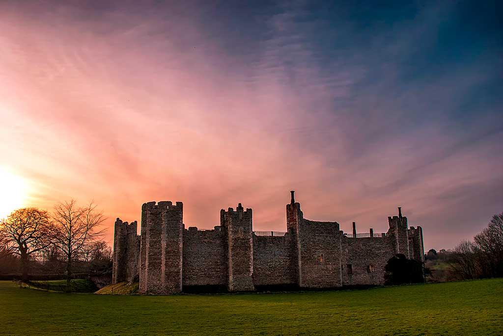 Best Castles in England Framlingham Castle
