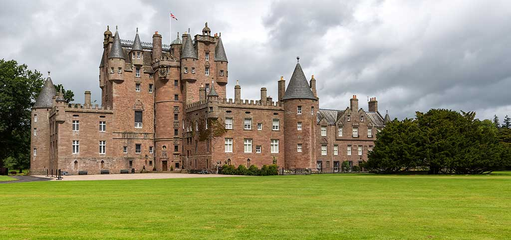Scottish Castles GLAMIS-CASTLE