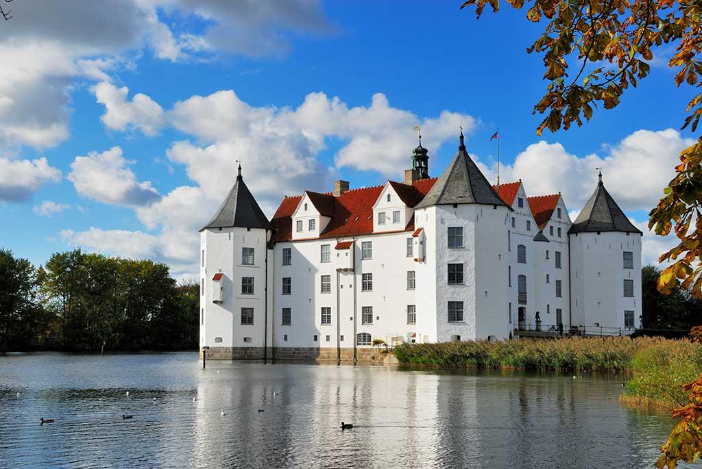 German Castles Glücksburg-Castle
