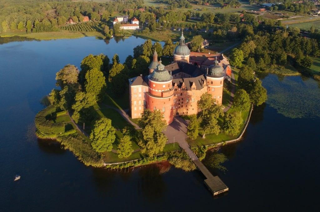 Famous European castles - Gripsholm Castle Sweden