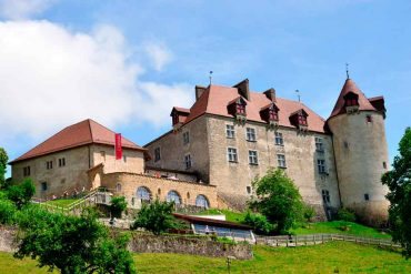 Best Swiss Castles Gruyeres-Castle