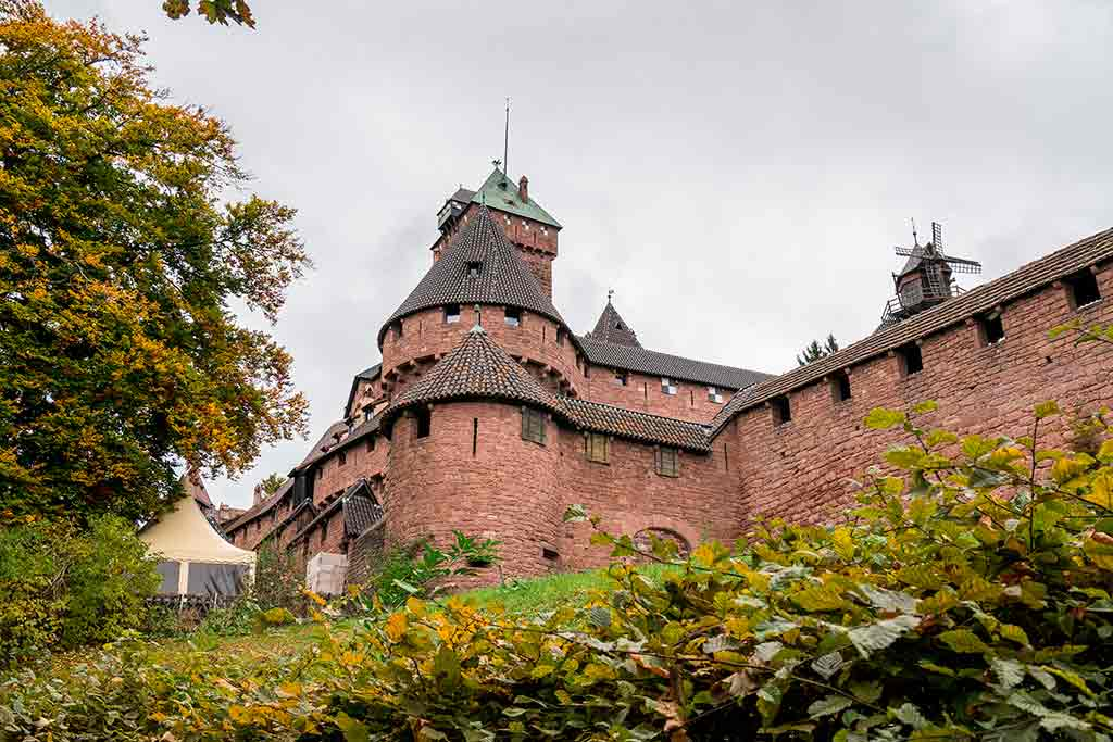 Castles in France Haut-Koenigsbourg