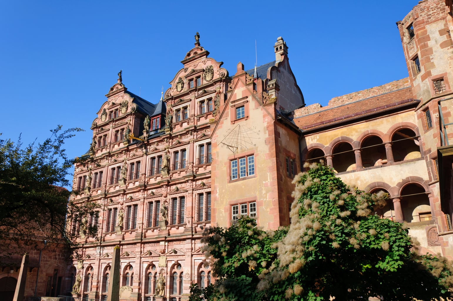 Best Castles in Germany Heidelberg-Castle