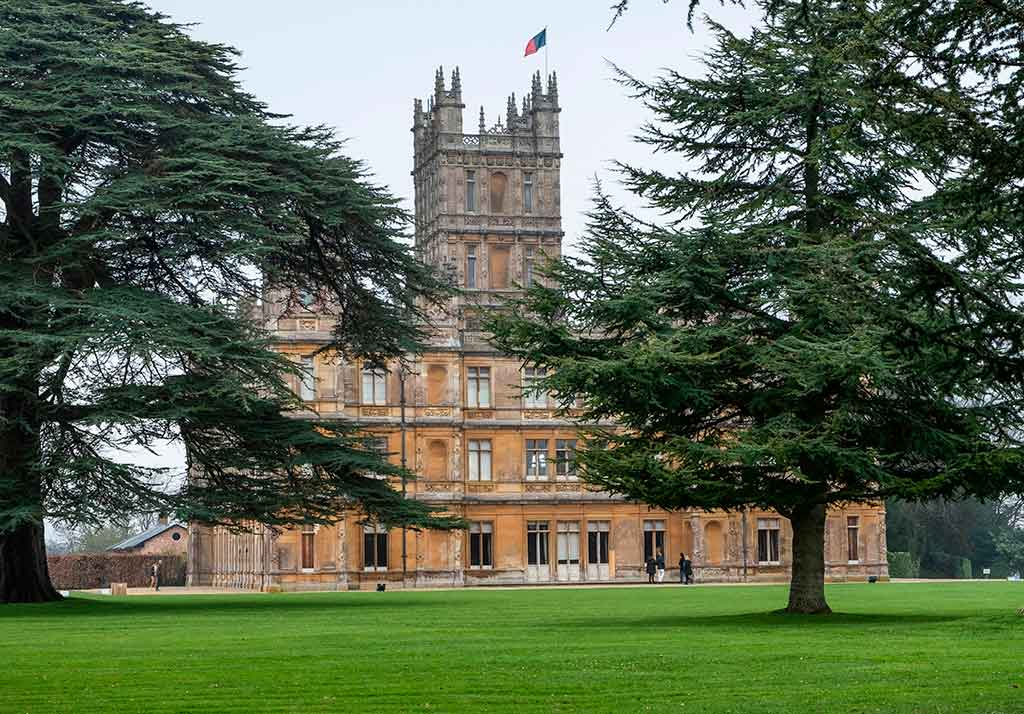 Best Castles in England Highclere Castle