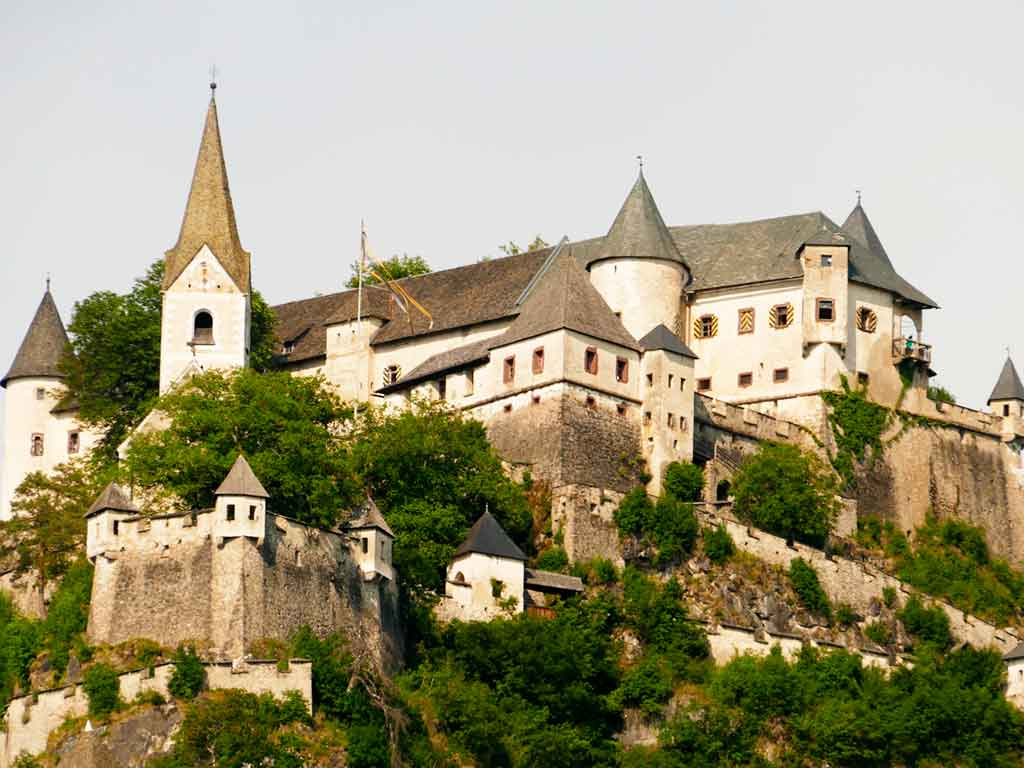 Famous Medieval Castles Hochosterwitz