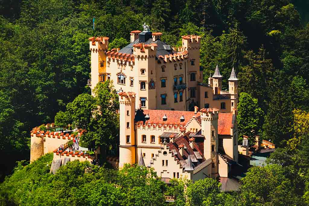 Famous Castles in Germany Hohenschwangau-Castle