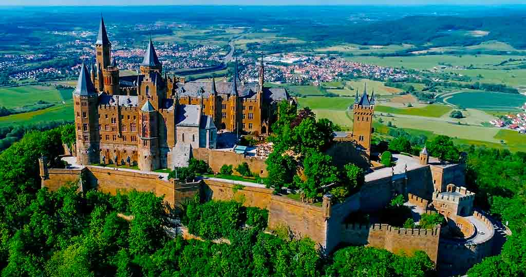 Best German Castles Hohenzollern-Castle